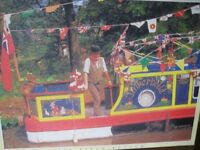 500 PIECE JIGSAW PUZZLE - ON THE BARGE - (Kirkby in Ashfield)