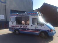 SOFT ICE CREAM VAN HIRE CHESHIRE