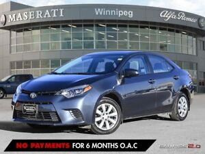 2016 Toyota Corolla LE: ONE OWNER, LOCAL VEHICLE, ACCIDENT FREE!