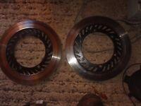 vented brake discs (pair) Yamaha XJ900f pre-diversion