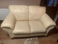 2 seater leather sofa, collection from Coventry