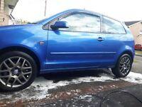 VW polo pd130 gt tdi limited blue alloys volkswagen 130 skoda vrs seat ibiza fr 1.9 TDI sport