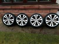 18 inch genuine Audi vw alloy wheels pcd 5x112