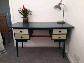 Upcycled vintage style desk
