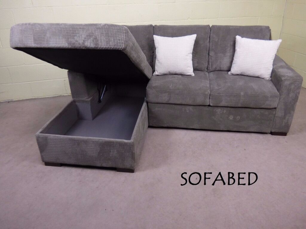 Ex Scs Dreamer 3 Seater Corner Chaise Sofabed With