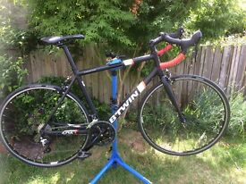 Btwin 24 speed racing bicycle Aluminium
