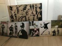 Banksy Canvases