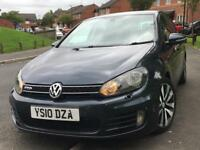 2010 VOLKSWAGEN GOLF 2.0 GT TDI 170BHP GTD REPLICA INSIDE OUT TOP SPEC MINT CONDITION !!