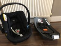 Mamas & Papas Aton Car Seat and Isofix Base. Use from birth. Collect Totton. Excellent condition