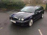 JAGUAR X TYPE 2.0 DIESEL ESTATE MOT £1399