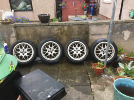 "BBS 16"" ALLOY WHEELS used"