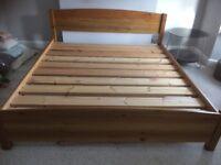 Warren Evans Super King Size Bed frame in superb condition for £250 (worth £1156 new)