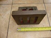 Union Angle Plate Milling Machine Lathe Drill Press Engineers etc