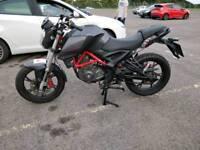 KSR GRS 125cc Motorbike