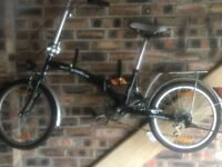 2 Bicycle4U folding Bicycles as new