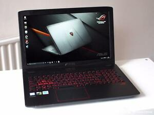 "ASUS Rog GL552V 15.6"" Gaming Laptop With Full Warranty"