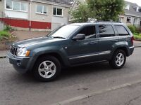 Jeep Grand Cherokee 3.0 CRD V6 Limited EDT 4x4, low miles, Sat Nav