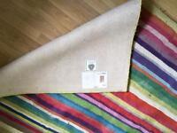 Lovely striped rug
