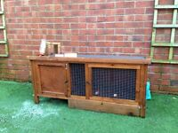 Guinea Pig Rabbit cage hutch