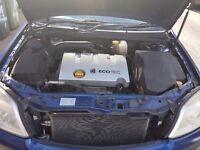 2003 vectra 1.8L - 12 months MOT