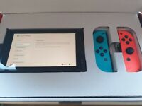 Nintendo Switch V2 With Minecraft Game