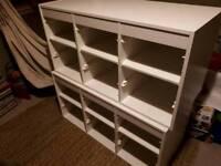 Ikea Trofast storage units.