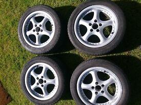 15inch AEZ 5 stud alloys, VW ALLOYS