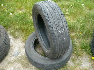 Two 185-65-15 tires $50.00