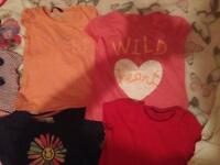 Selection Of Little Girls Clothes