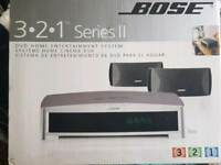BOSE 3.2.1 SERIES 2 DVD HOME CINEMA SYSTEM