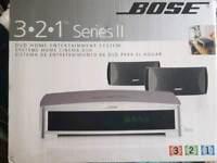BOSE 3.2.1 SERIES 2 DVD HOME CINEMA SYSTEM