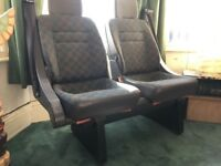 Mercedes van rear passenger double seat (Vito, Sprinter)