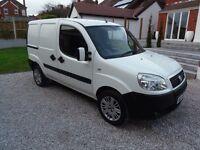 FIAT DOBLO CARGO 1.3 CDTI SX VAN, LOW MILEAGE, NEW MOT, VERY CLEAN AND TIDY VAN, NO VAT