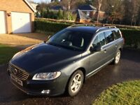 Dark Grey, 2015 Volvo V70 2.0 D3, Auto, 26700 miles, Business Edition, Sat Nav, MOT Feb 2019