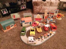 Large bundle of fireman Sam toys