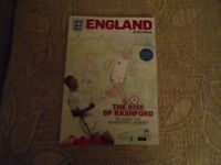 England v Slovenia. Mint condition football programme played at Wembley 6th Oct 2017