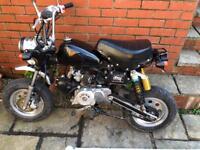 Lifan 110 monkey bike