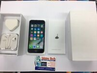 IPHONE 6 BLACK/ VISIT MY SHOP./ GIFT / UNLOCKED / 16 GB/ GRADE B / WARRANTY + RECEIPT