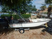 Boston Whaler 13ft Dory with 50hp Yamaha 2-stroke For Sale