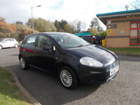FIAT GRANDE PUNTO 1.2 HATCHBACK 5 DOOR BLUE NEW SHAPE 2006 PX TO CLEAR BARGAIN ONLY £495 *LOOK*