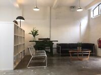 Desk Space Available - The Workshop - London Fields / Broadway Market area, Hackney, London.