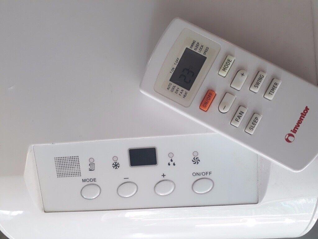 8 000 Btu/h Cool Portable Air Conditioner (Inventor) | in Hackney, London |  Gumtree