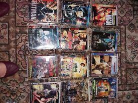 variety of 42 dvd's