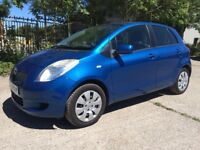 2006 TOYOTA YARIS 1.0L PETROL 5 DOOR IN BLUE 12 MONTH MOT FULL SERVICE HISTORY HIGHLY ECONOMICAL