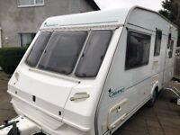 Abbey Cabaret 5 berth touring caravan 1999