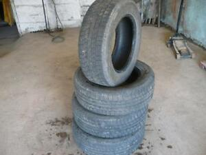 Four matching 205-65-15 tires $100.00