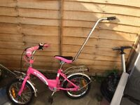 Bike for 3-5 years old girl in good condition