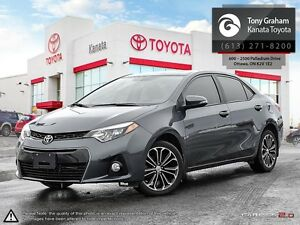 2015 Toyota Corolla S Sport+Navigation+Alloys+Sunroof