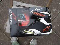 Alpinestarrs track boots