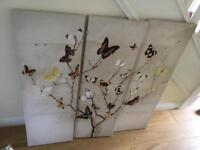 Large 3 piece art canvas